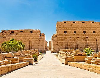 Chrám v Karnaku, celkový pohled
