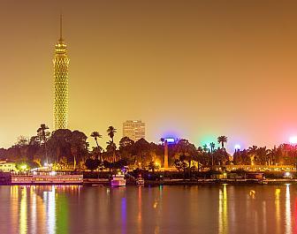 Káhira, noční pohled