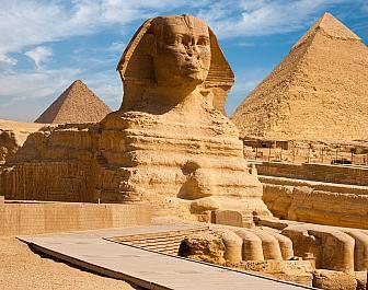 Pyramidy v Gíze, sfinga