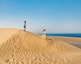 Katarská poušť