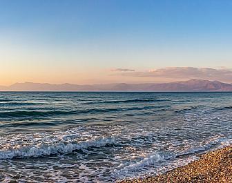 Acharavi, moře