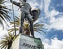 Achillion, socha Achillea
