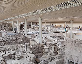 Akrotiri, archeologické naleziště