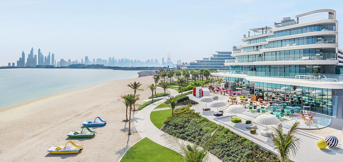 Místa k připojení v Dubaji