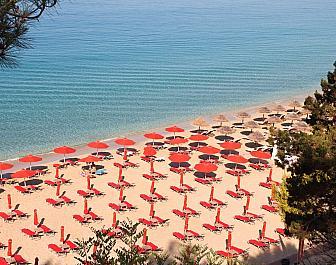 Argostoli, pláž Platis Gialos