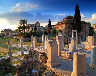 Atény, Římská agora