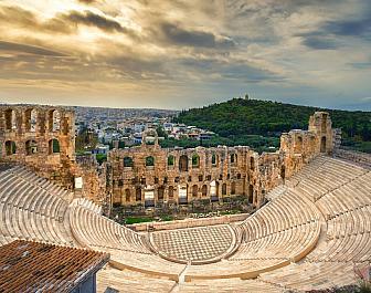 Atény, divadlo Heroda Attika