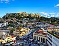 Atény, Akropolis a město