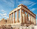 Atény, Parthenon pohled zdola