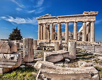 Atény, Parthenon a pozůstatky sloupů