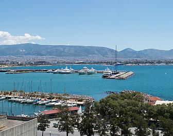 Atény, přístav Piraeus
