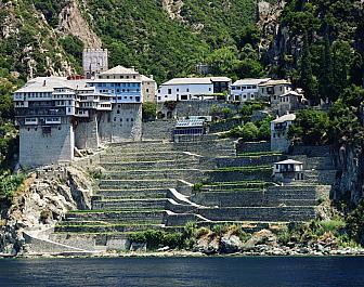 Athos, mnišský stát