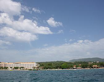 Dasiá, pláž a moře