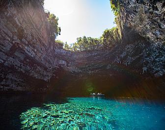 Drogarati, jeskyně Melissani