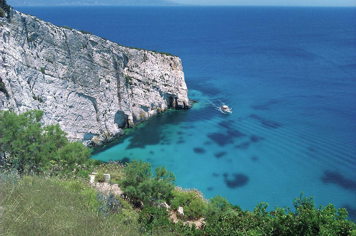Okruh ostrovem Zakynthos