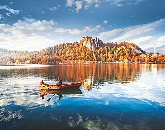 Jezero Bled, romantická plavba