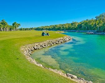 Golf na Mayské riviéře