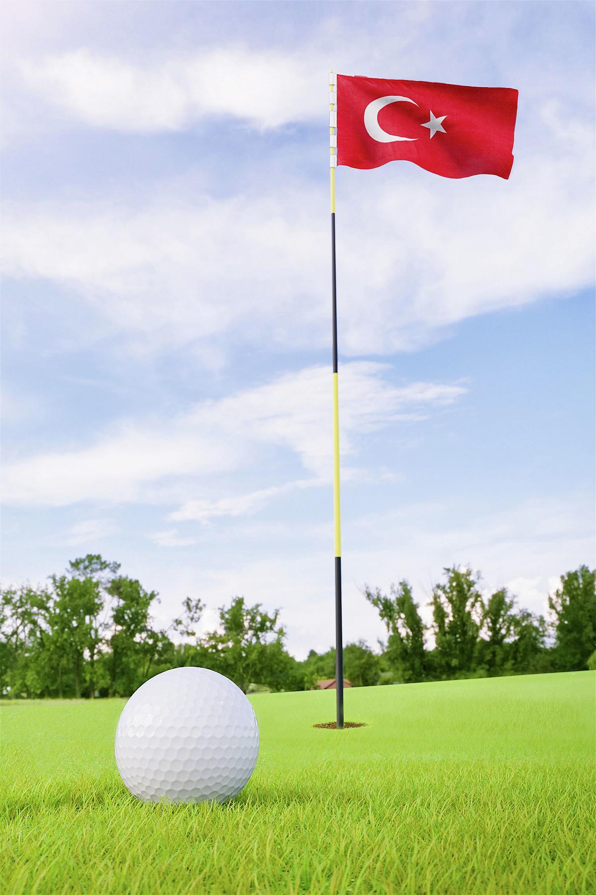 Golf na Turecké riviéře