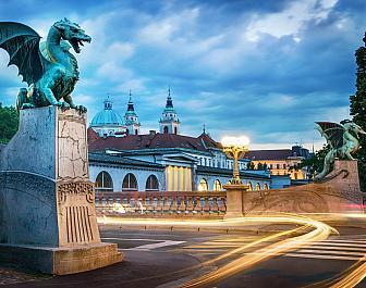 Lublaň, most Zmajski