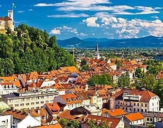 Lublaň, celkový pohled