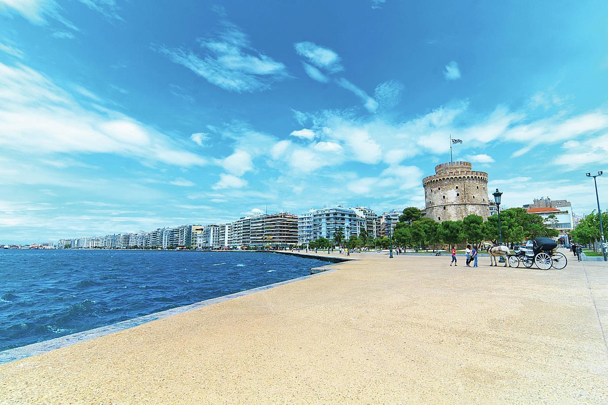 Druhé největší řecké město Soluň
